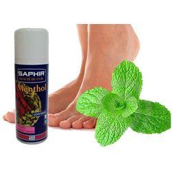 Dezodorant, odświeżacz do butów Menthol Saphir Spray 200ml