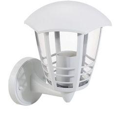 Zewnętrzna LAMPA elewacyjna MARSELLIE 8641 Rabalux metalowa OPRAWA ścienna KINKIET do ogrodu IP44 outdoor biały