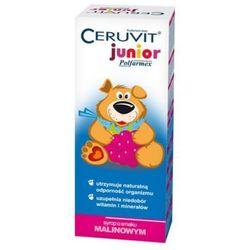 Ceruvit Junior Polfarmex sm.malinowy syrop - 120 ml