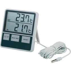 Termometr cyfrowy Jumbo, wewnętrzny/zewnętrzny
