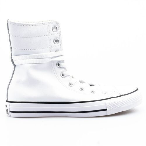 buty CONVERSE - CT AS Hi-Rise Seasonal White/Black/White (WHITE/BLACK/WHITE) rozmiar: 36.5