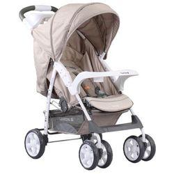 Adamex, Quatro Imola, wózek spacerowy, beżowy Darmowa dostawa do sklepów SMYK