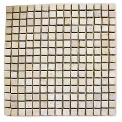 Mozaika marmurowa Garth na siatce kremowa 1m2