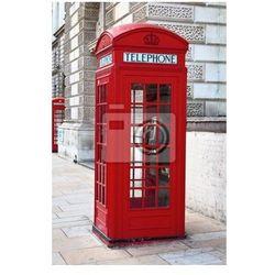 Plakat Czerwona budka telefoniczna w Londynie