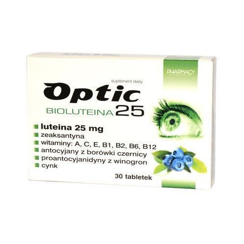 Optic Bioluteina 25 x 30 tabletek