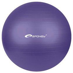 Piłka gimnastyczna FITBALL śr.55 cm + pompka Spokey (fioletowa)