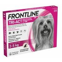 FRONTLINE TRI-ACT XS - 3x0,5ML. PIES 2-5KG