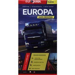 Europa. Mapa drogowa 1:4 000 000