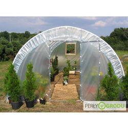 Tunel foliowy (ogrodniczy) PCV 8m x 3m x 1,9m UV-4 - WYSYŁKA GRATIS