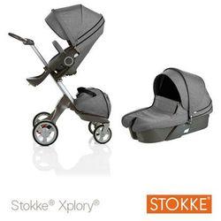 Stokke ® Xplory Głęboko-Spacerowy Black Me