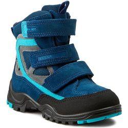 Śniegowce ECCO - Xpedition Kids 70464259656 Black/Poseidon/Poseidon-Black