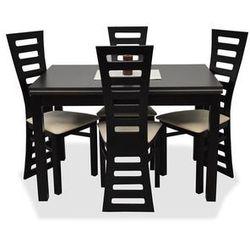 Zestaw VANDA I (4 krzesła/stół 0x120/160)