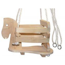 Huśtawka drewniana dla Dzieci Koń