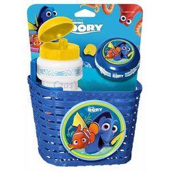 Stamp Zestaw Dory i Nemo na rower - koszyk, dzwonek i bidon