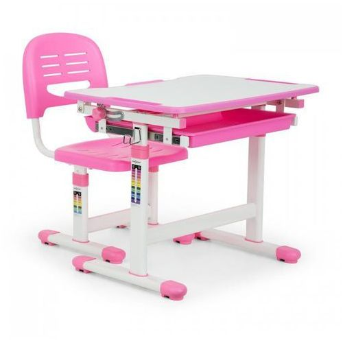 Unikalne oneConcept Annika biurko dla dziecka z krzeslem rozowy - porównaj ZH92