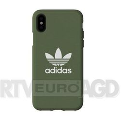 Adidas Moulded Case Canvas iPhone X/Xs (zielony)