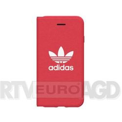 Adidas Booklet Case Adicolor SS18 iPhone X (czerwony)