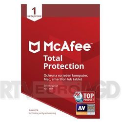 McAfee Total Protection 1 PC / 1 rok