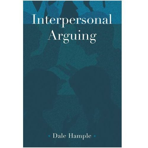Interpersonal Arguing Hample, Dale