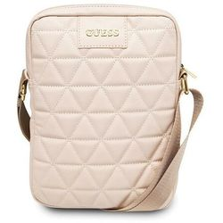 "Guess Torba GUTB10QLPK 10"" różowa/pink Quilted Tablet Bag"